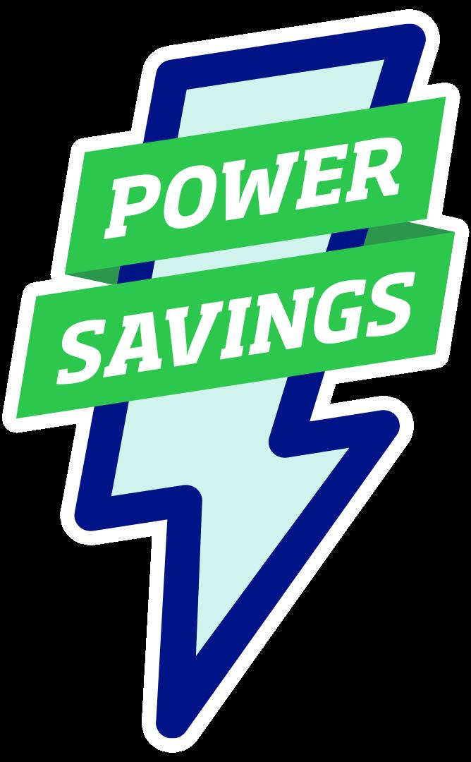 Power Savings emblem